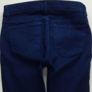 J Brand KINSEY Nightfall Skinny Jeans 27 A230J